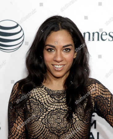 "Television personality Sharon Carpenter attends the world premiere of ""Time Is Illmatic"" at the 2014 Tribeca Film Festival, in New York"