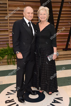 Raymond Kelly, left, and Veronica Kelly attend the 2014 Vanity Fair Oscar Party,, in West Hollywood, Calif