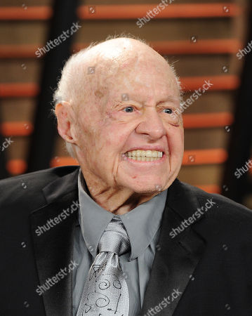 Actor Mickey Rooney attends the 2014 Vanity Fair Oscar Party,, in West Hollywood, Calif