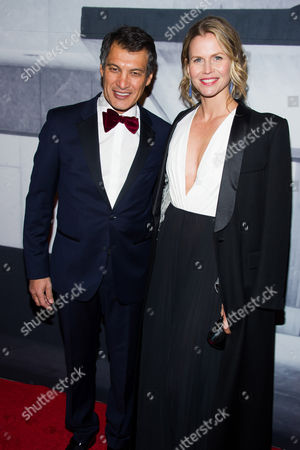 Frederic Fekkai and Shirin von Wulffen attend the Whitney Museum Gala on in New York