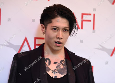 Takamasa Ishihara arrives at the AFI Awards at The Four Seasons Hotel on in Los Angeles