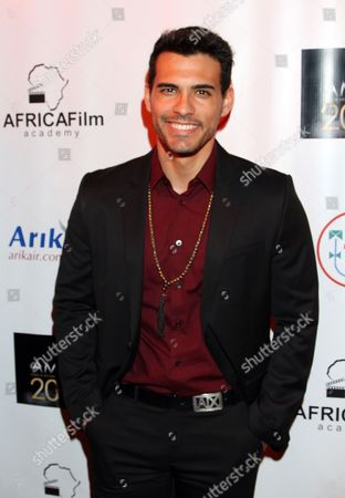 Stock Photo of Actor Geovanni Gopradi seen at 2015 AMAA Nominations Dinner at H.O.M.E., in Beverly Hills, Calif