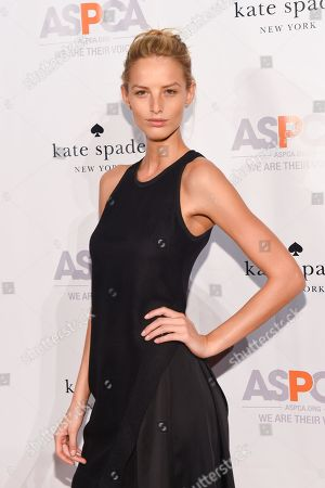 Model Michaela Kocianova attends the ASPCA Young Friends Benefit at the IAC Building, in New York