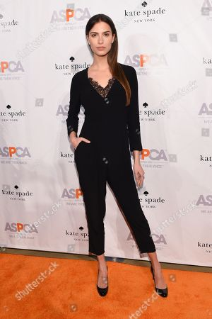 Model Natalia Beber attend the ASPCA Young Friends Benefit at the IAC Building, in New York