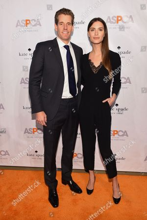 Stock Image of Internet entrepreneur Cameron Winklevoss, left, and model Natalia Beber attend the ASPCA Young Friends Benefit at the IAC Building, in New York