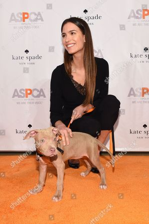 Stock Photo of Model Natalia Beber attend the ASPCA Young Friends Benefit at the IAC Building, in New York