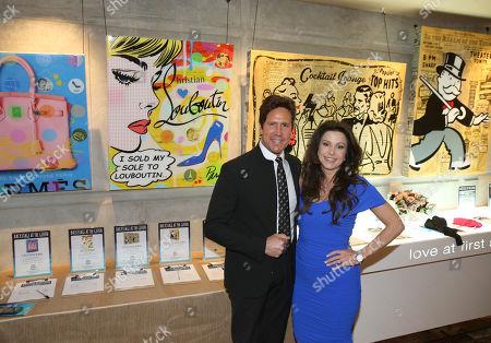 Stock Picture of Nelson De La Nuez, left, and Stacy De La Nuez attend Backstage at the Geffen, in Los Angeles