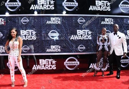 Editorial photo of 2015 BET Awards - Arrivals, Los Angeles, USA - 28 Jun 2015