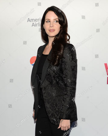 Stock Image of Lana Del Ray attends the 2015 Billboard Women in Music honors at Cipriani 42nd Street, in New York