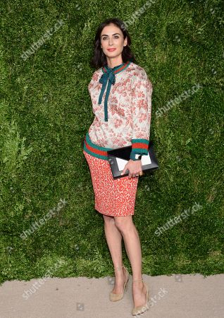 Francesca Amfitheatrof attends the 12th Annual CFDA/Vogue Fashion Fund Awards at Spring Studios, in New York