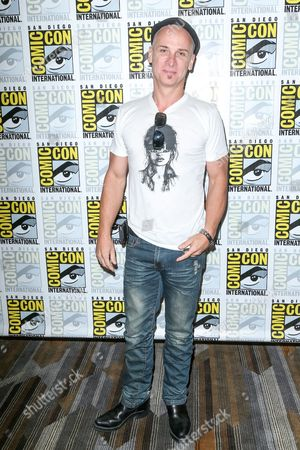 """Stock Picture of Colin Cunningham attend the """"Falling Skies"""" press line on day 2 of Comic-Con International, in San Diego"""