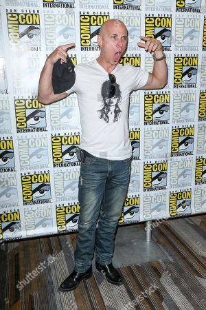 """Stock Photo of Colin Cunningham attend the """"Falling Skies"""" press line on day 2 of Comic-Con International, in San Diego"""