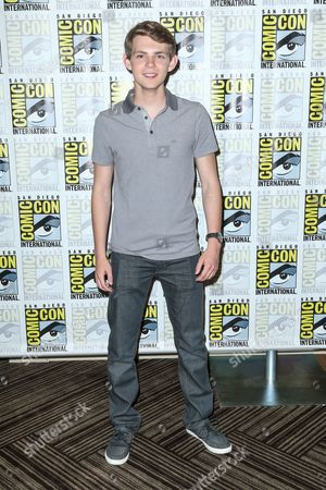 """Robbie Kay attends the """"Heroes Reborn"""" press line on day 4 of Comic-Con International, in San Diego"""