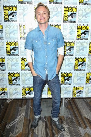"David Anders attends the ""iZombie"" press line on day 2 of Comic-Con International, in San Diego"
