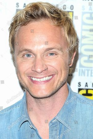 "Stock Image of David Anders attends the ""iZombie"" press line on day 2 of Comic-Con International, in San Diego"