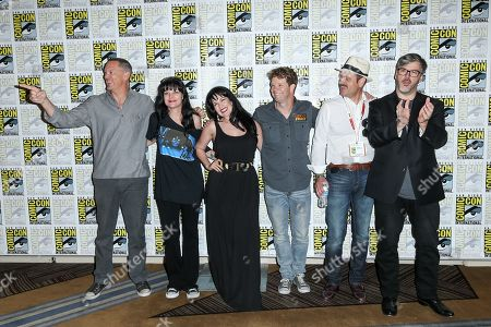 """Editorial image of 2015 Comic-Con - """"Scooby-Doo! and KISS: Rock and Roll Mystery"""" Press Line, San Diego, USA - 9 Jul 2015"""