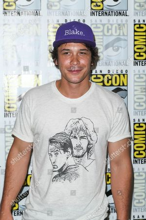 """Stock Image of Bob Morley attends the """"The 100"""" press line on day 2 of Comic-Con International, in San Diego"""