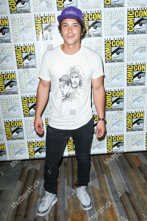 """Bob Morley attends the """"The 100"""" press line on day 2 of Comic-Con International, in San Diego"""
