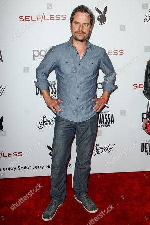 Anthony Lemke attends the Playboy and Gramercy Pictures' Self/less party on day 2 of Comic-Con International, in San Diego