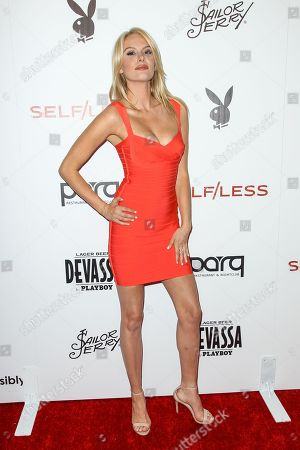 Stock Photo of Jackie Moore attends the Playboy and Gramercy Pictures' Self/less party on day 2 of Comic-Con International, in San Diego