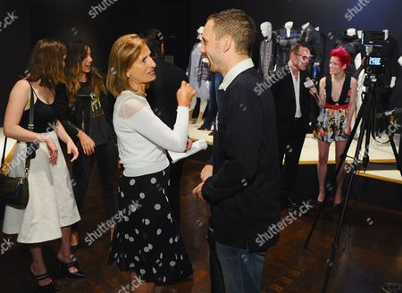 Helen Kassianides, left, and Nick Blood seen at The 9th Annual Outstanding Art of Television Costume Design Exhibition opening at the FIDM Museum & Galleries on the Park, in Los Angeles. The Television Academy and FIDM Museum honored this year's Emmy(R) Award winners in Outstanding Costume Design at the opening reception for this annual special exhibition