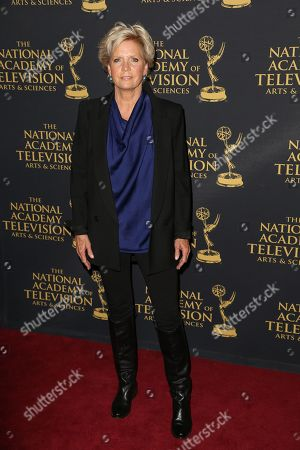 Meredith Baxter arrives at the 2015 Daytime Creative Arts Emmy Awards at The Universal Hilton, in Universal City, Calif