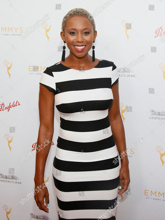 Zee James seen at the Television Academy's 67th Emmy Daytime Peer Group Celebration at the Montage Beverly Hills on in Beverly Hills, Calif
