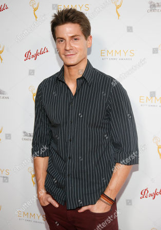Robert Palmer Watkins seen at the Television Academy's 67th Emmy Daytime Peer Group Celebration at the Montage Beverly Hills on in Beverly Hills, Calif