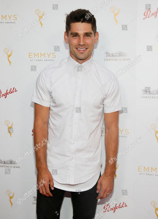 Justin Gaston seen at the Television Academy's 67th Emmy Daytime Peer Group Celebration at the Montage Beverly Hills on in Beverly Hills, Calif
