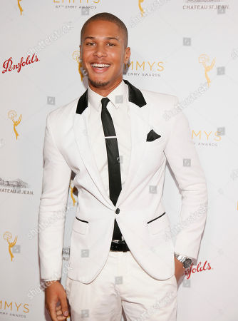 Stock Picture of Najee De-Tiege seen at the Television Academy's 67th Emmy Daytime Peer Group Celebration at the Montage Beverly Hills on in Beverly Hills, Calif