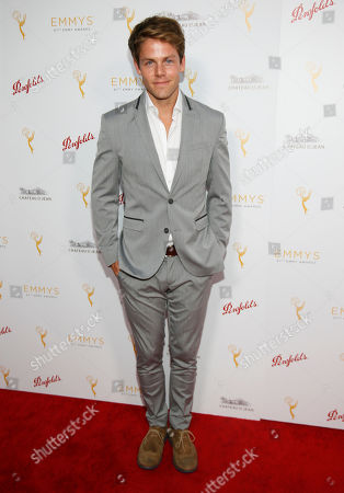 Lachlan Buchanan seen at the Television Academy's 67th Emmy Daytime Peer Group Celebration at the Montage Beverly Hills on in Beverly Hills, Calif