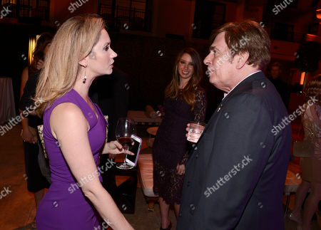 Ashley Jones, left, and David Michaels seen at the Television Academy's 67th Emmy Daytime Peer Group Celebration at the Montage Beverly Hills on in Beverly Hills, Calif