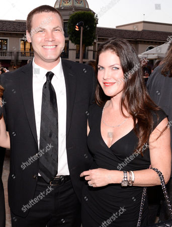 Jared Safier, left, and Kira Reed Lorsch seen at the Television Academy's 67th Emmy Daytime Peer Group Celebration at the Montage Beverly Hills on in Beverly Hills, Calif