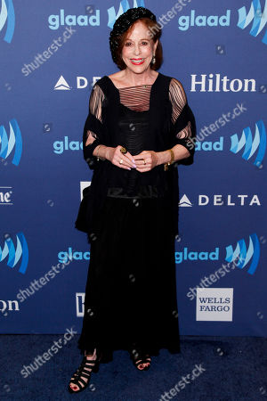 Stock Picture of Louise Sorel attends the 26th Annual GLAAD Media Awards at the Waldorf Astoria, in New York
