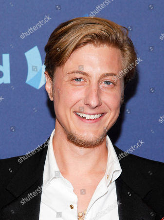 Scott Turner Schofield attends the 26th Annual GLAAD Media Awards at the Waldorf Astoria, in New York