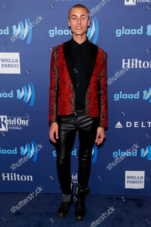Editorial picture of 2015 GLAAD Media Awards - Arrivals, New York, USA - 9 May 2015