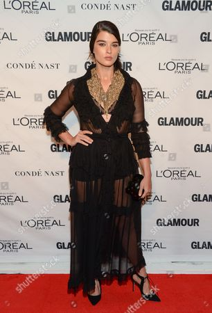 Crystal Renn attends the 25th Annual Glamour Women of the Year Awards at Carnegie Hall, in New York
