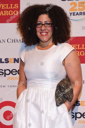 Rain Pryor attends the 2015 GLSEN Respect Awards at Cipriani 42nd Street, in New York