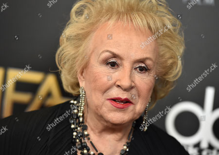 Stock Picture of Doris Roberts arrives at the Hollywood Film Awards at the Beverly Hilton Hotel, in Beverly Hills, Calif