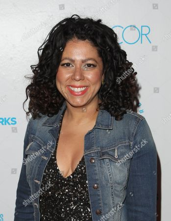 Stock Image of Designer Evette Rios attends the Housing Works Groundbreaker Awards at The Metropolitan Pavilion, in New York