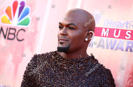 Stock Image of Lord KraVen arrives at the iHeartRadio Music Awards at The Shrine Auditorium, in Los Angeles