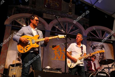 Eric Lindell performs at the New Orleans Jazz & Heritage Festival, in New Orleans, Louisiana
