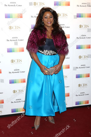 Denyce Graves attends the 38th Annual Kennedy Center Honors at The Kennedy Center Hall of States, in Washington