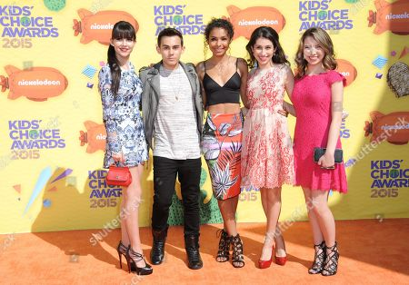 Editorial image of 2015 Kids' Choice Awards - Arrivals, Inglewood, USA - 28 Mar 2015