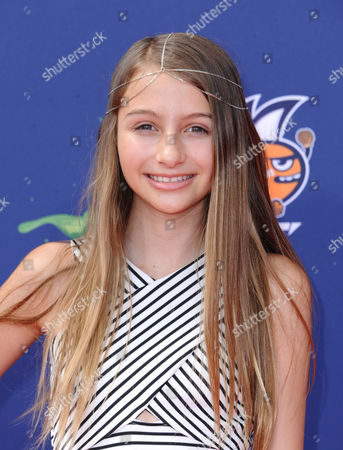Sophia Strauss arrives at the 2015 Kids' Choice Sports Awards at Pauley Pavilion on in Los Angeles