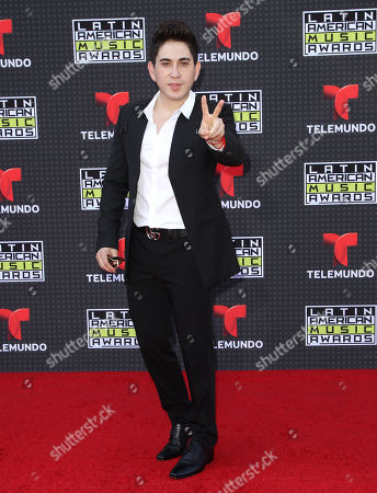 El Bebeto arrives at the Latin American Music Awards at the Dolby Theatre, in Los Angeles