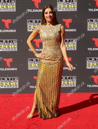 Kika Rocha arrives at the Latin American Music Awards at the Dolby Theatre, in Los Angeles