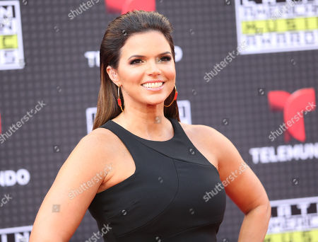 Rashel Diaz arrives at the Latin American Music Awards at the Dolby Theatre, in Los Angeles
