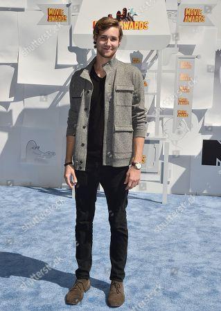 Editorial image of 2015 MTV Movie Awards - Arrivals, Los Angeles, USA - 12 Apr 2015