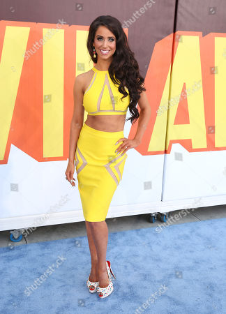 Syd Wilder arrives at the MTV Movie Awards at the Nokia Theatre, in Los Angeles